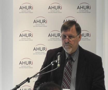 Bruce Judd AHURI Hobart forum