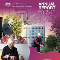 Aged Care Commissioner's annual report
