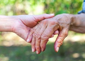 aged care carers caring hands