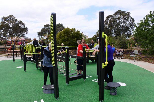 Seniors playground